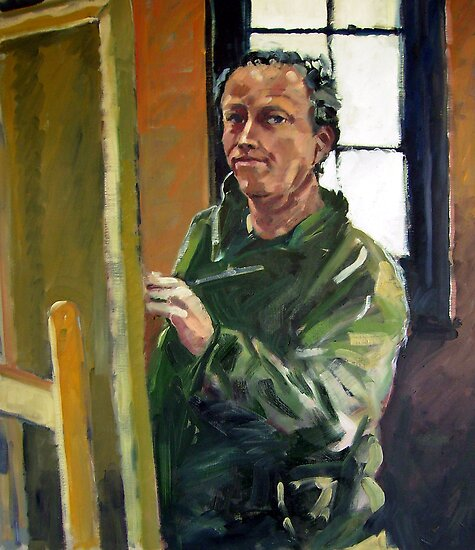 Self Portrait by Paul  Milburn