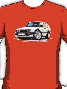 VW Golf GTi (Mk2) White T-Shirt