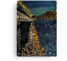 Night Bridge Canvas Print