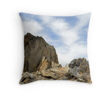 Oro Grande Rocks Throw Pillow