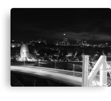 N City Canvas Print