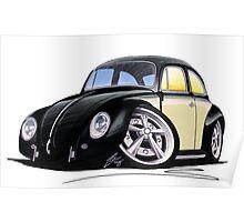 VW Beetle (Custom C) Poster
