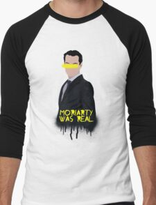 Moriarty Was Real Men's Baseball ¾ T-Shirt
