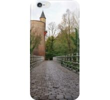 Bridge over Minnewater, Bruges iPhone Case/Skin