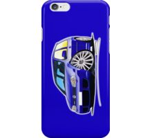 VW Golf (Mk4) R32 Blue iPhone Case/Skin