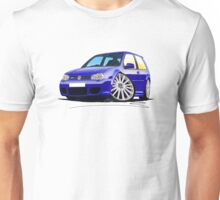 VW Golf (Mk4) R32 Blue Unisex T-Shirt