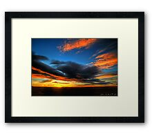 The Color of Heaven Framed Print
