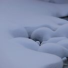 Snow on the River Bank by Geoffrey