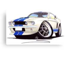 Shelby Mustang GT500 (60s) Canvas Print