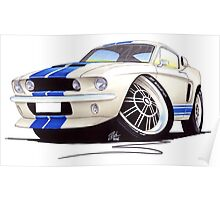 Shelby Mustang GT500 (60s) Poster