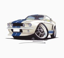 Shelby Mustang GT500 (60s) One Piece - Short Sleeve