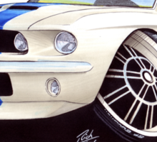 Shelby Mustang GT500 (60s) Sticker
