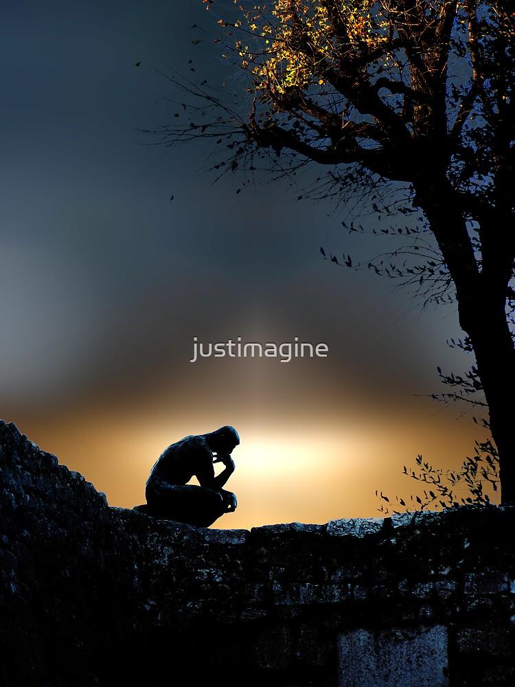 I am an Island  by justimagine