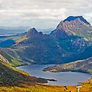 Cradle Mountain from the air 2 by Neil