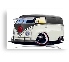 VW Splitty Panel Van (RB) Canvas Print