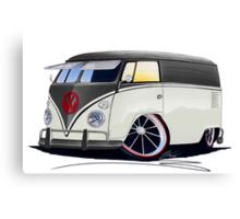 VW Splitty Panel Van (RB) Canvas Print