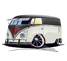 VW Splitty Panel Van (RB) Photographic Print