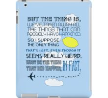 Martin Crieff Quote iPad Case/Skin