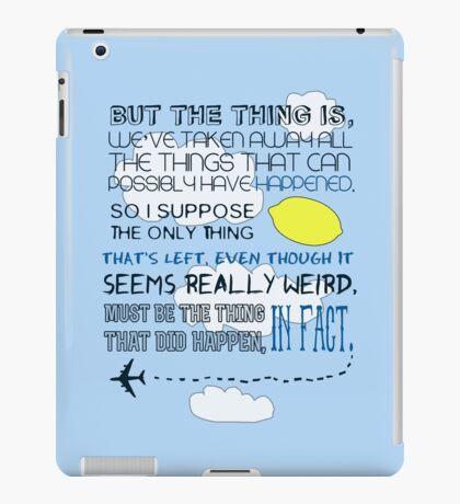 Martin Crieff Quote iPad Case/Skin