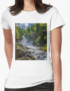 Sutherland Falls Womens Fitted T-Shirt