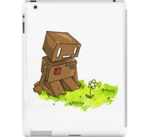 Robot Flower iPad Case/Skin