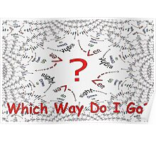 Which Way Do I Go? Poster