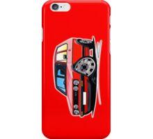 VW Golf GTi (Mk1) Red iPhone Case/Skin