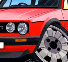VW Golf GTi (Mk1) Red Sticker