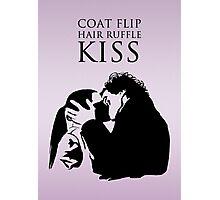 Sherlock and Molly Kiss II Photographic Print