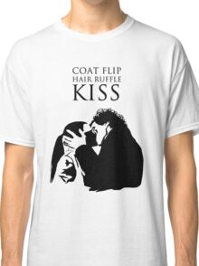 Sherlock and Molly Kiss II Classic T-Shirt