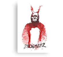 Donnie Darko Frank   Canvas Print