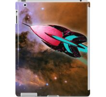A Cruiser Interceptor on Patrol at the Fairy of Eagle Nebula iPad Case/Skin