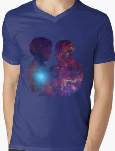 Burn Your Heart Out. Mens V-Neck T-Shirt