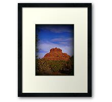 Bell Rock in Sedona Framed Print