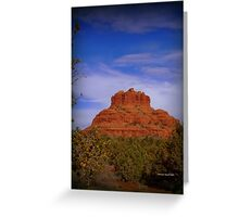 Bell Rock in Sedona Greeting Card