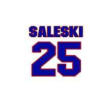 Hey, you must be a big fan of Saleski, if not pls search for your favourite players jersey to wear it proudly.  Photographic Print