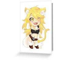 Akame Ga Kill Leone Greeting Card