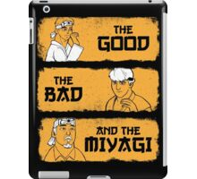 The Good, The Bad, And The Miyagi iPad Case/Skin