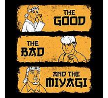 The Good, The Bad, And The Miyagi Photographic Print