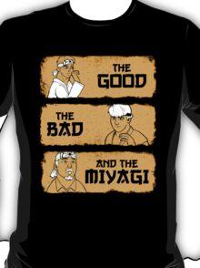 The Good, The Bad, And The Miyagi T-Shirt