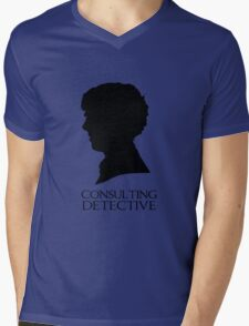 Consulting Detective Mens V-Neck T-Shirt