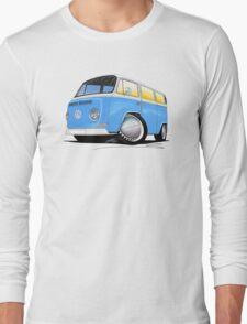 VW Bay (Early) Light Blue Long Sleeve T-Shirt