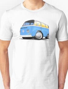 VW Bay (Early) Light Blue T-Shirt