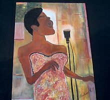 Billie holiday by Hadassah