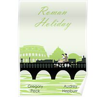 Roman Holiday poster and t-shirts Poster