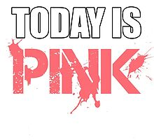 Today is Pink by Sid3walk Art