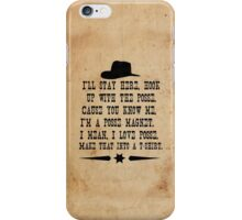 I Love Posse iPhone Case/Skin
