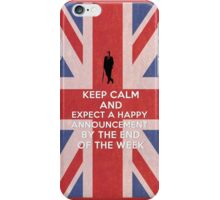 Happy announcement iPhone Case/Skin