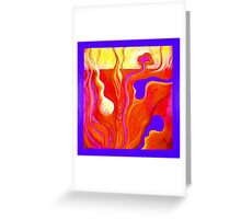 PUZZLE PIECE E Greeting Card