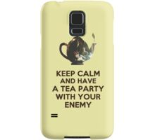 Tea Party Samsung Galaxy Case/Skin